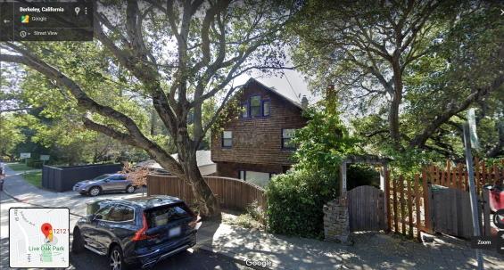 1212 Walnut Street - Philip K. Dick's house when he was 11