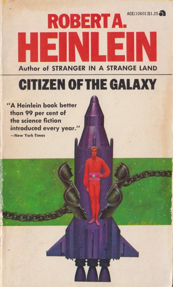 Ace Books - Citizen Of The Galaxy by Robert A. Heinlein