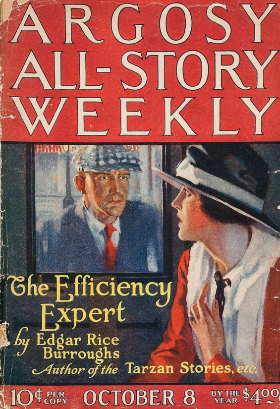 Argosy All-Story Weekly - The Efficiency Expert - COVER