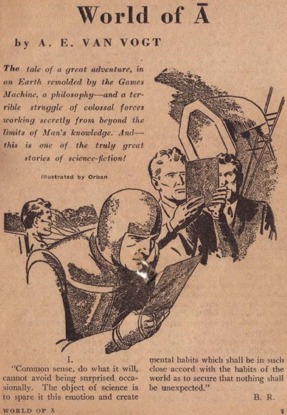 Astounding, August 1945