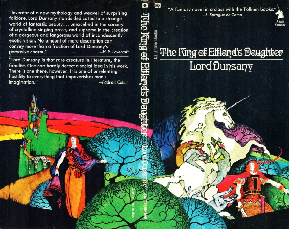 BB - The King Of Elfland's Daughter by Lord Dunsany