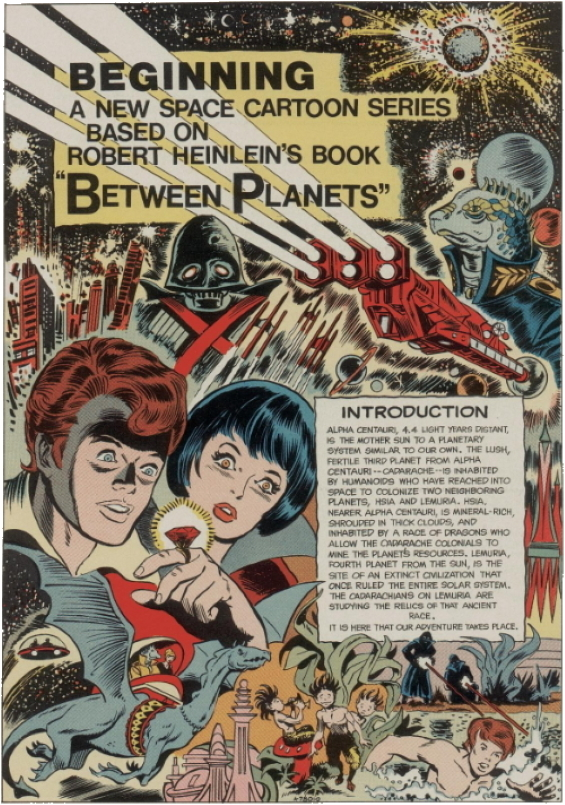 Between Planets (comics adaptation)