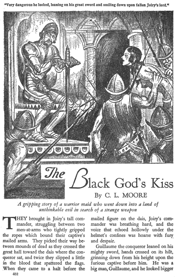 Black God's Kiss by C.L. Moore
