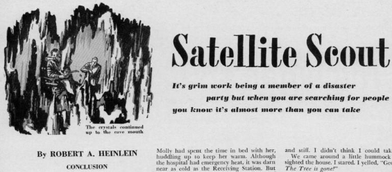 Boys' Life August to November 1950 - Satellite Scout by Robert A. Heinlein