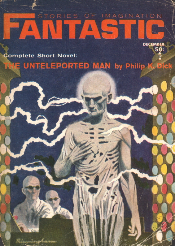 Fantastic Stories Of Imagination The Unteleported Man by Philip K. Dick
