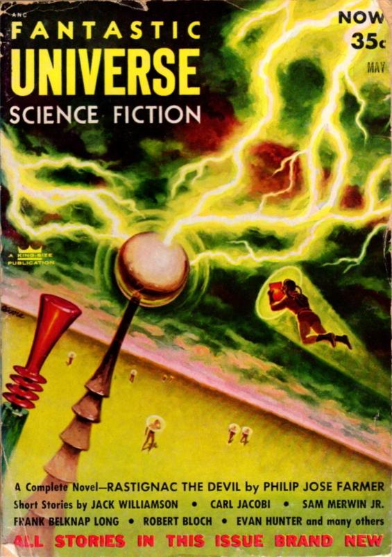 Fantastic Universe, May 1954