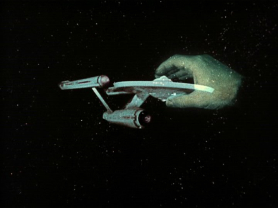 Gene Roddenberry's Giant Green Hand in Star Trek