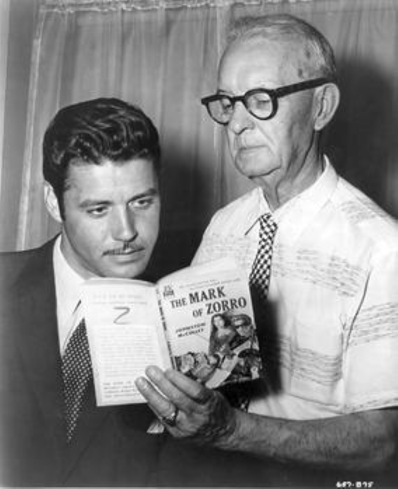 Guy Williams and Johnston McCulley