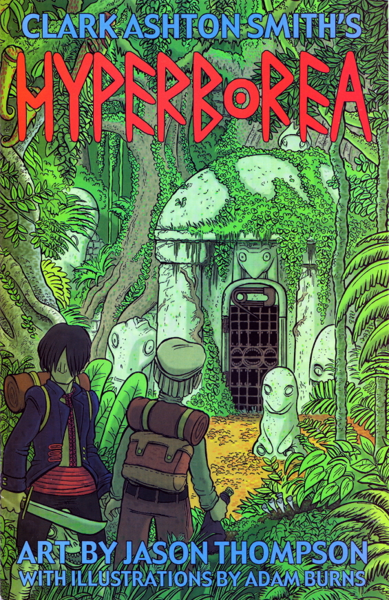 Clark Ashton Smith's Hyperborea by Jason Thompson