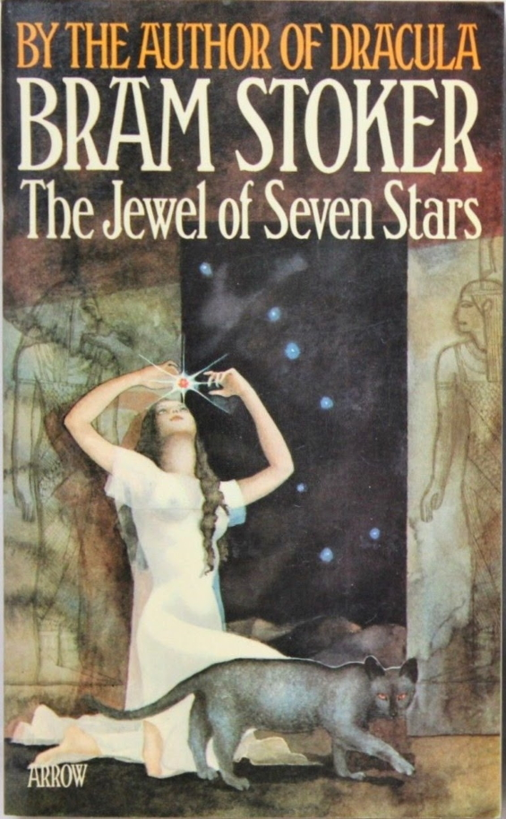 The Jewel Of Seven Stars by Bram Stoker, Arrow 1975