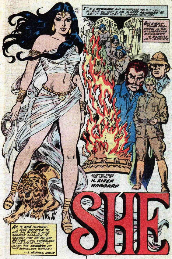 Marvel Classics 24 - She by H. Rider Haggard