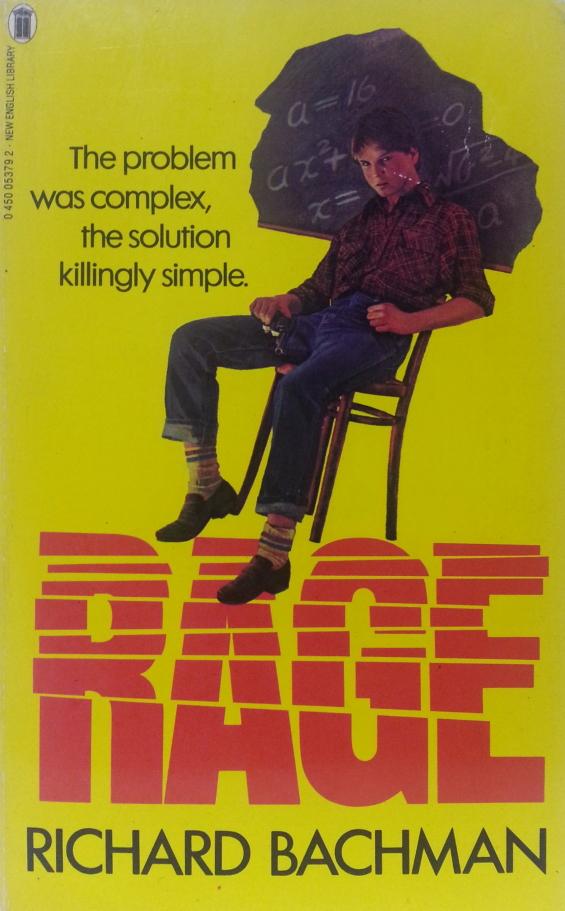 New English Library - Rage by Richard Bachman