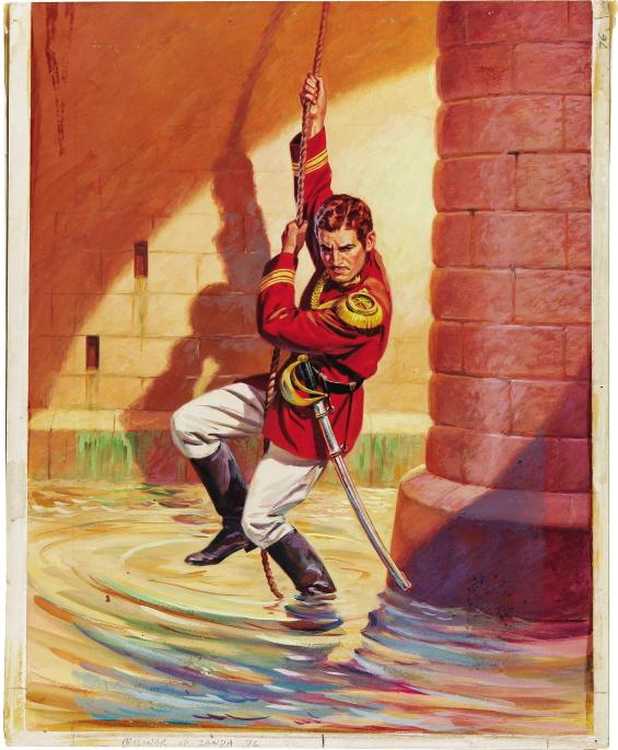 Original cover art for Classics Illustrated Issue 76 (Gilberton)