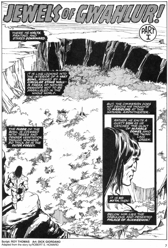 Savage Sword Of Conan, number 25