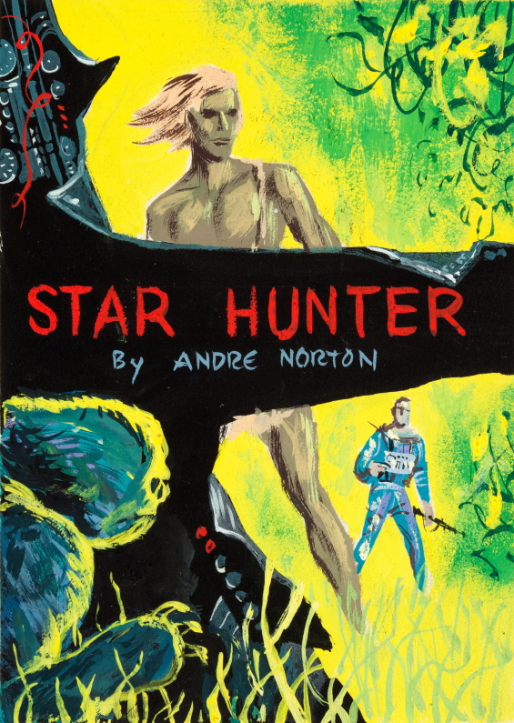 Andre Norton's Star Hunter - preliminary art by Ed Emshwiller