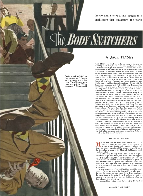 The Body Snatchers by Jack Finney - Colliers December24, 1954