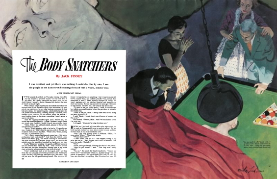 The Body Snatchers by Jack Finney - Collier's November 26, 1954