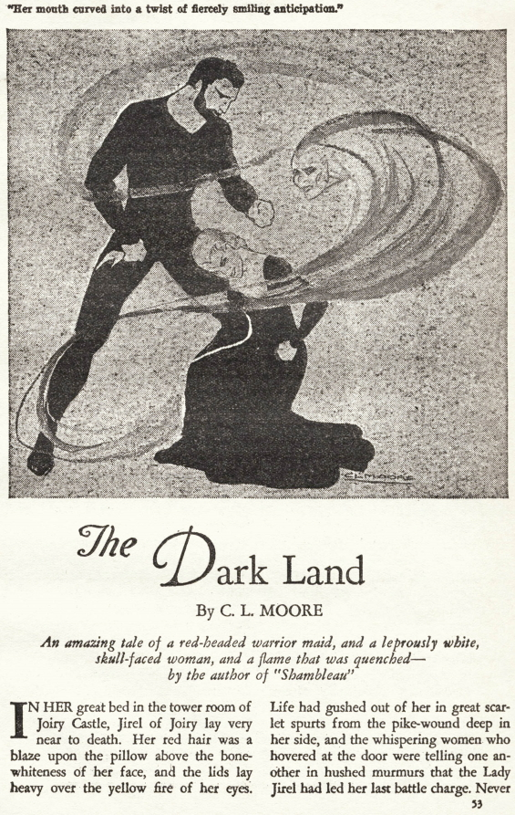 The Dark Land by C.L. Moore