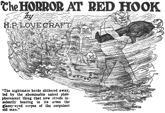 The Horror At Red Hook by H.P. Lovecraft - Weird Tales, January 1927