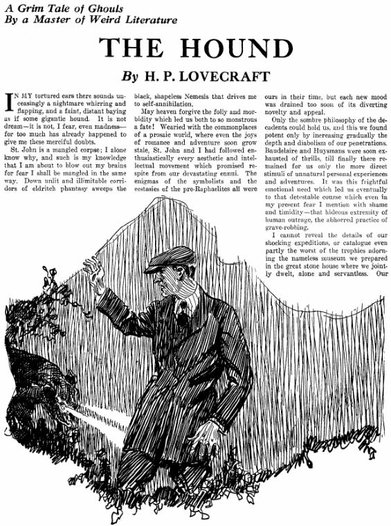 The Hound by H.P. Lovecraft