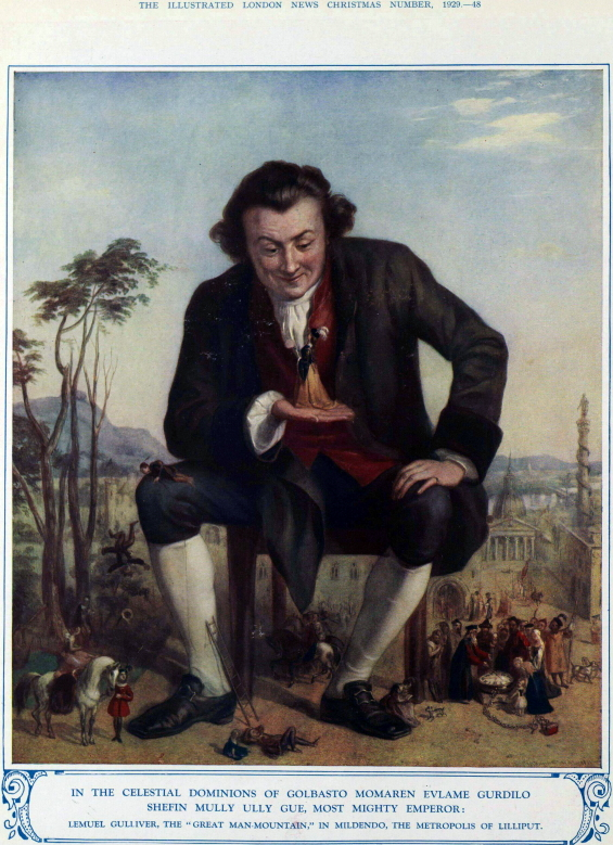 The Illustrated London News - Gulliver's Travels - Christmas 1929