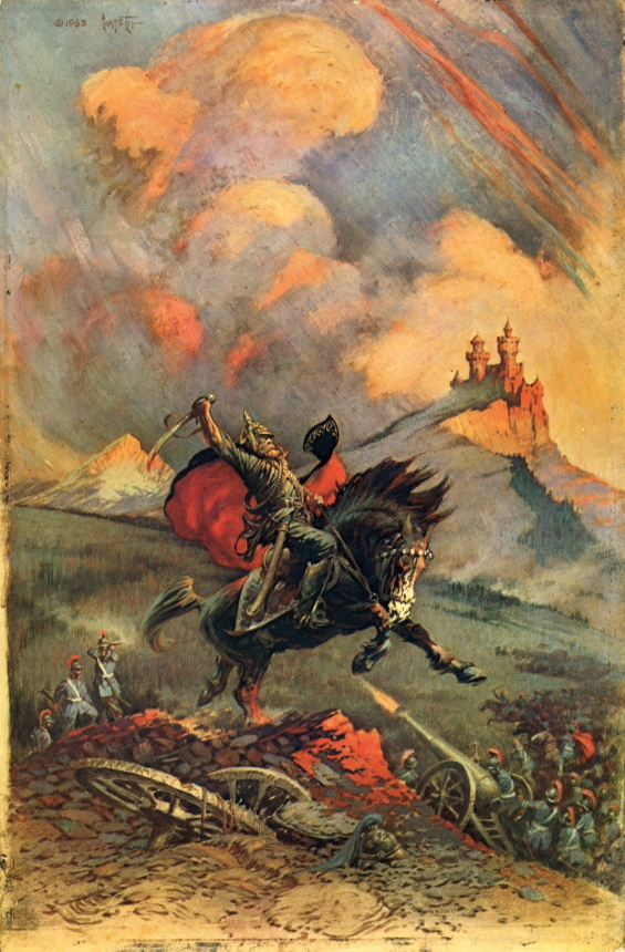 The Mad King by Edgar Rice Burroughs - Frank Frazetta 1963