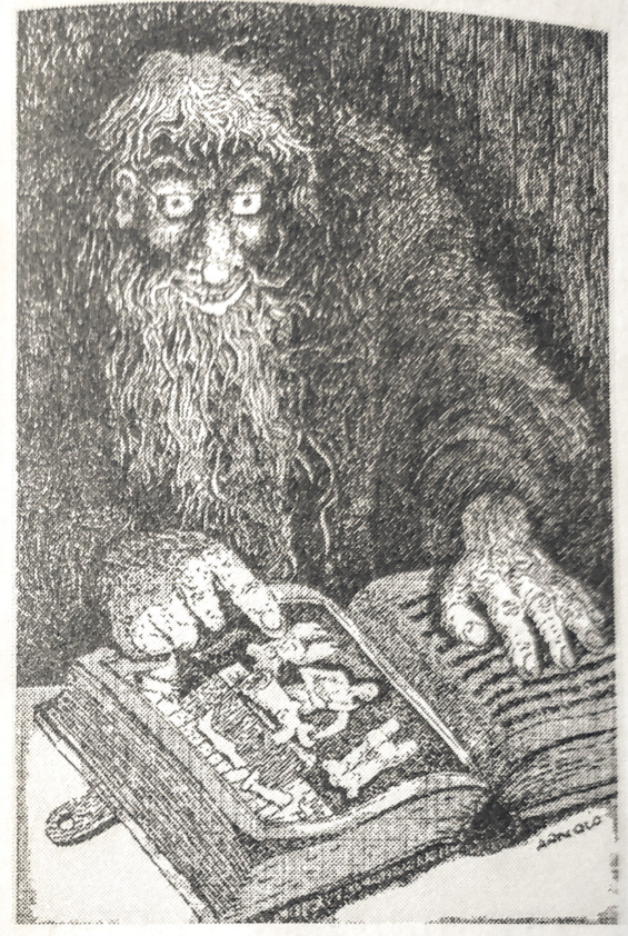 The Picture In The House by H.P. Lovecraft - illustrated by Hans Arnold