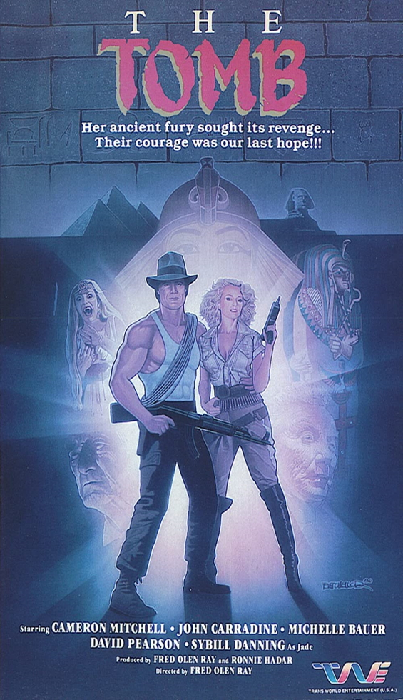 The Tomb (1986) VHS