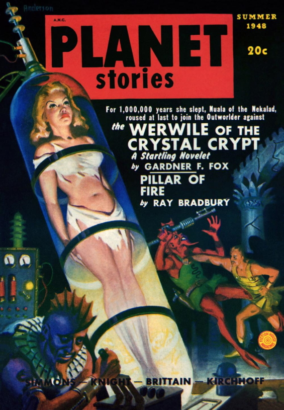 Werwile Of The Crystal Crypt by Gardner F. Fox