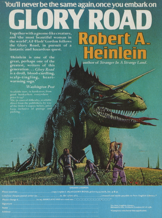 You Wont Be The Same - GLORY ROAD by Robert A. Heinlein